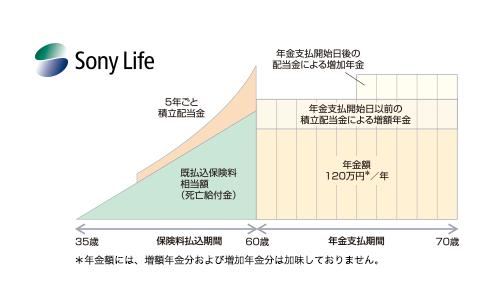 ソニー生命個人年金保険の口コミ・特徴